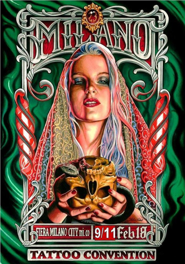 Milano Tattoo Convention 2018 Poster