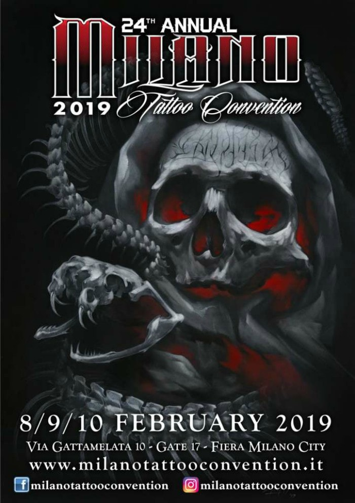 Milano Tattoo Convention 2019 Poster