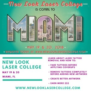 New Look Laser College Miami 2018