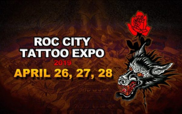 Roc City Tattoo Expo 2019 Poster