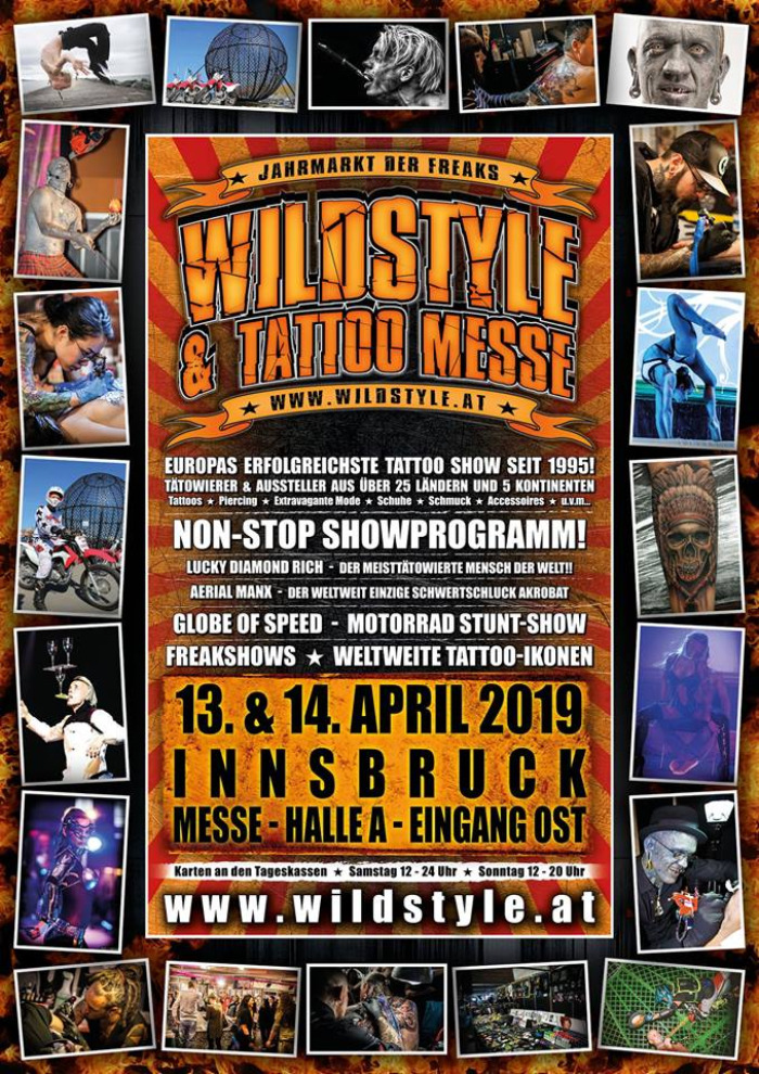2019 Wildstyle & Tattoo Messe Tour Innsbruck