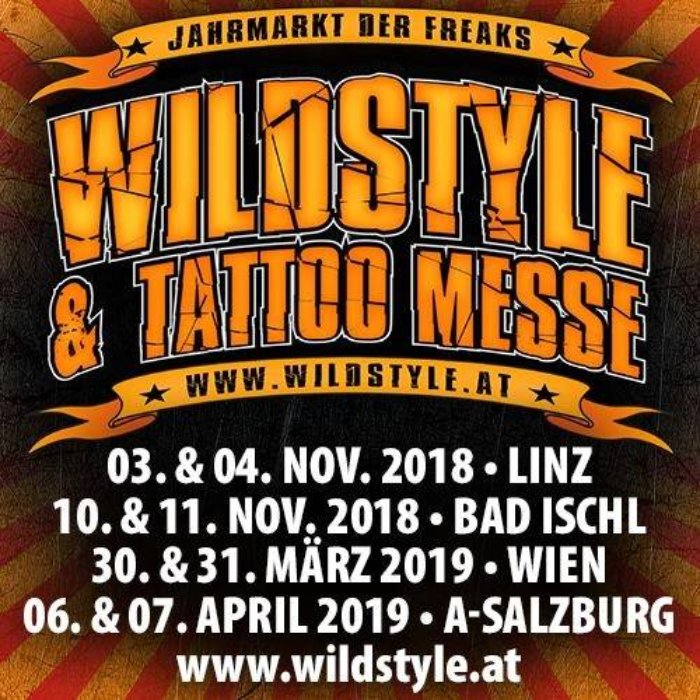 Wildstyle Tattoo Messe Tour Salzburg 2019