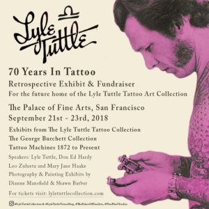 Lyle Tuttle 70th Retrospective