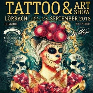 2018 Tattoo & Art Show Lörrach