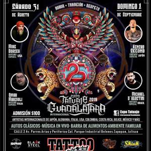 2019 Expo Tattoo Guadalajara
