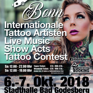 2018 The INK Bonn Tattoo Convention