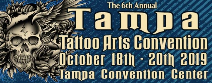 6th Tampa Tattoo Arts Convention ☆ October 2019