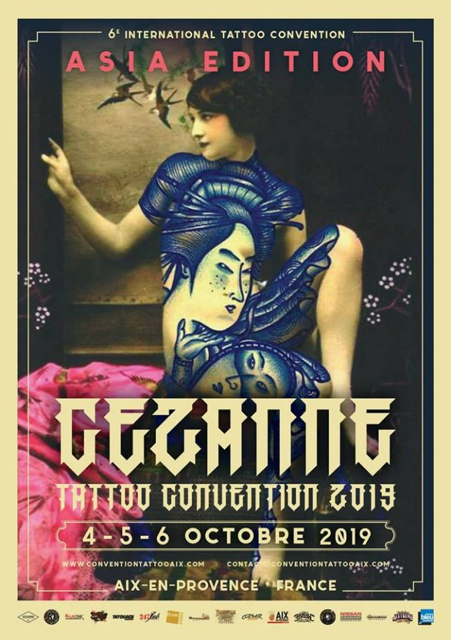 Cezanne Tattoo Convention 2019 Poster