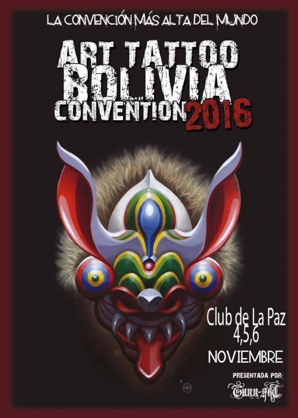 Art Tattoo Bolivia Convention 20 November 2020