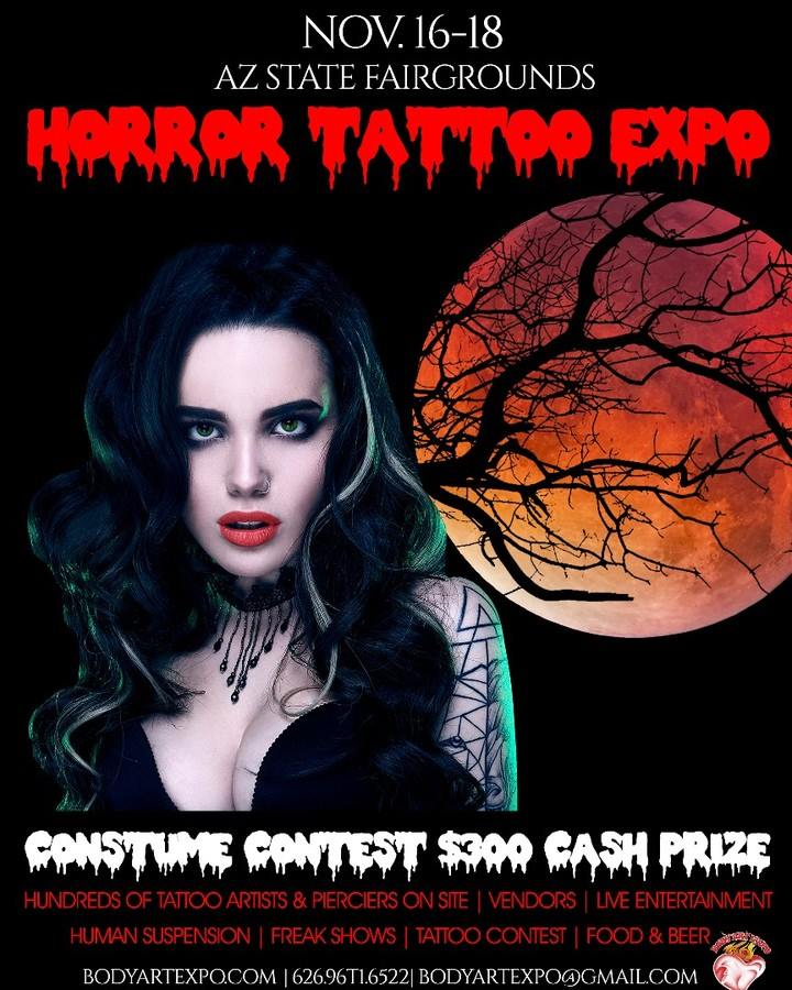 Horror Tattoo Expo 16 November 2018