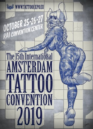 15th Amsterdam Tattoo Convention October 2019 Netherlands