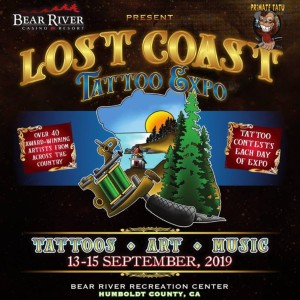 Lost Coast Tattoo Expo 2019