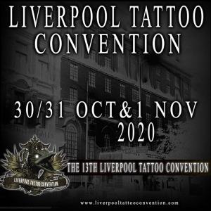 Liverpool Tattoo COnvention OCT - NOV