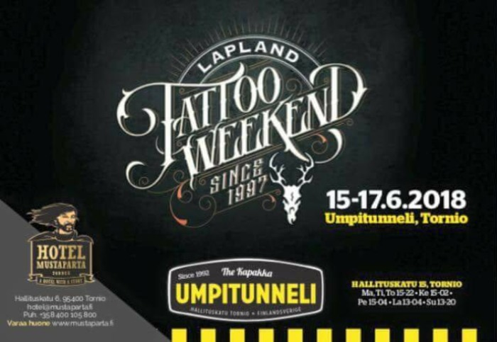 22nd Lapland Tattoo Weekend 14 June 2019