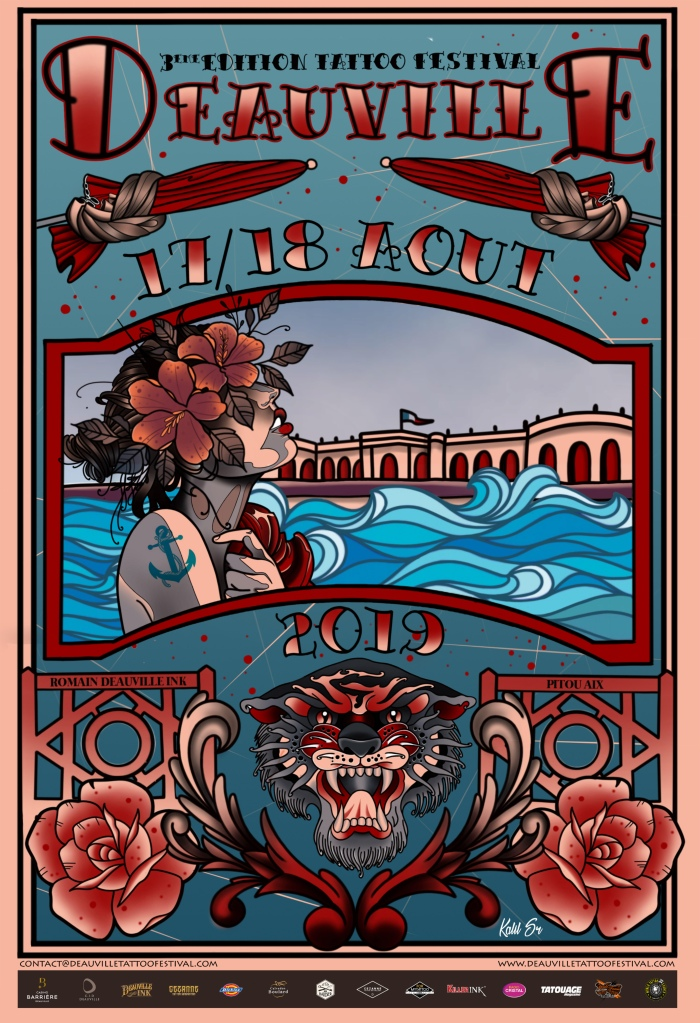 Deauville Tattoo Festival 2019 Poster