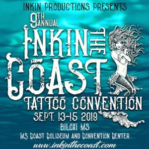 Inkin The Coast tattoo convention 2019