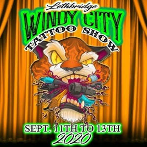 Lethbridge Windy City Tattoo Weekend 2020 September