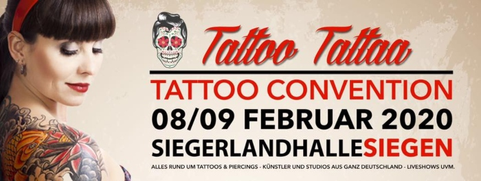Tattoo Convention Siegen 2020