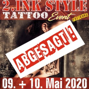 2. INK Style Tattoo Event Freiburg 9 May 2020