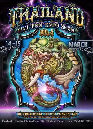 Thailand Tattoo Expo 2020 Bangkok
