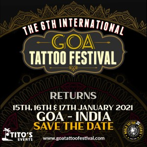 Goa Tattoo Festival 2021 Featured