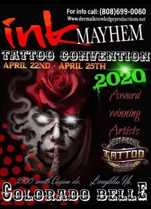 Ink Mayhem Laughlin 2020 Nevada