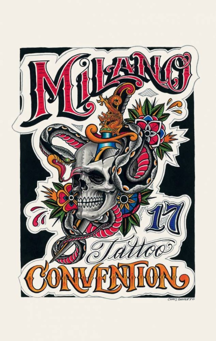 Milano Tattoo Convention 2012 Poster