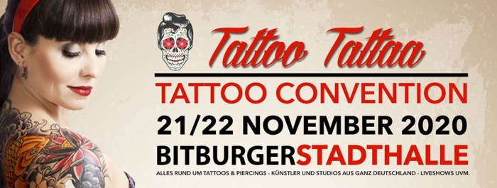 Bitburg Tattoo Convention 21 November 2020
