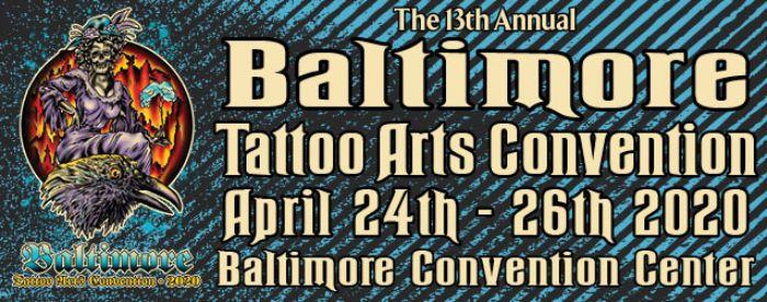 Baltimore Tattoo Arts Banner 2020