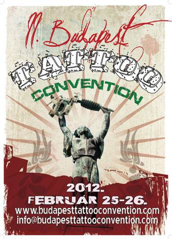 Budapest Tattoo Convention 2012 Poster