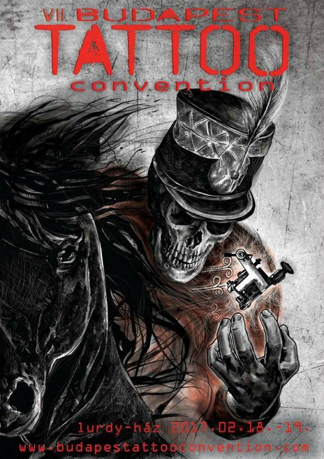 Budapest Tattoo Convention 2017 Poster