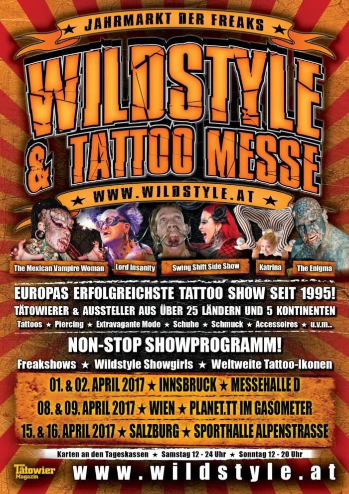 Wildstyle Tattoo Tour Innsbruck 5 September 2020