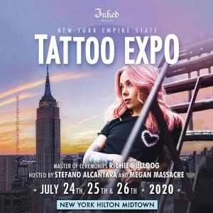 2020 Empire New York Tattoo Expo USA