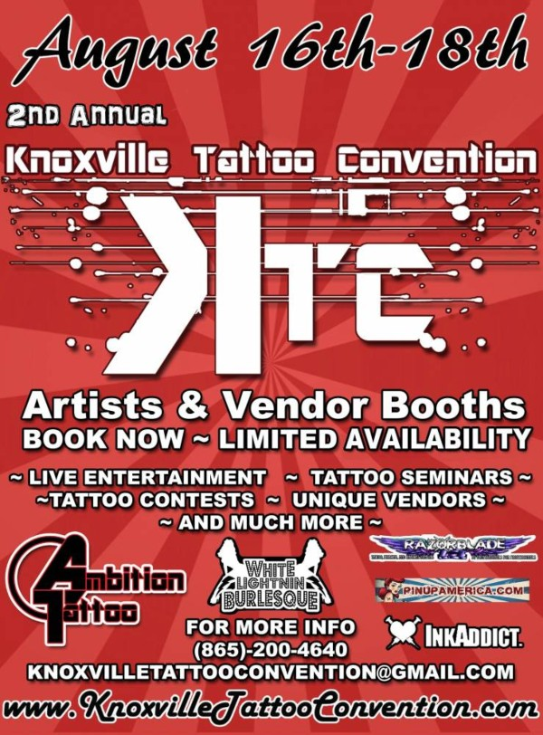Knoxville Tattoo Convention 20 August 2021