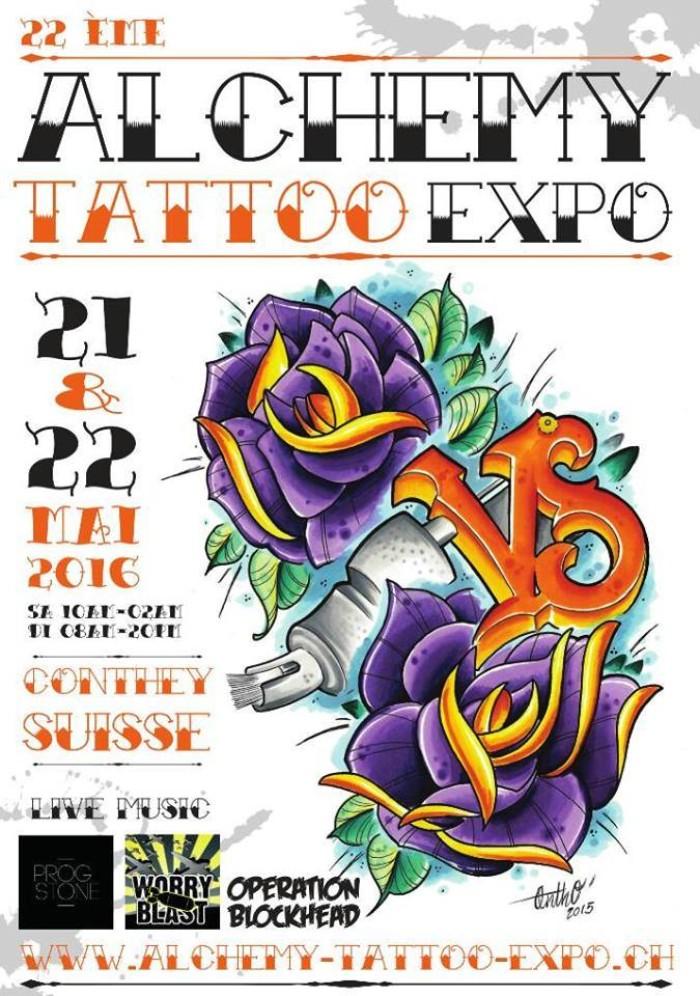 26th Alchemy Tattoo Expo 21 May 2021