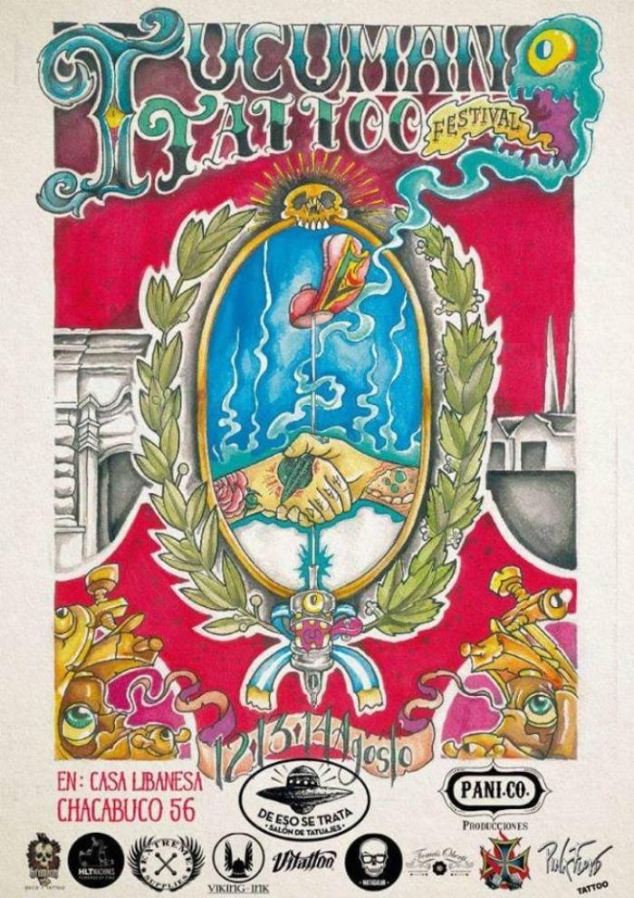 Tucuman Tattoo Festival 2018 (26-28 July)