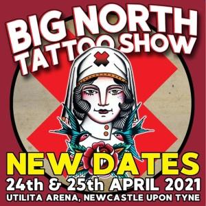 Big North Tattoo Show 24 April 2021