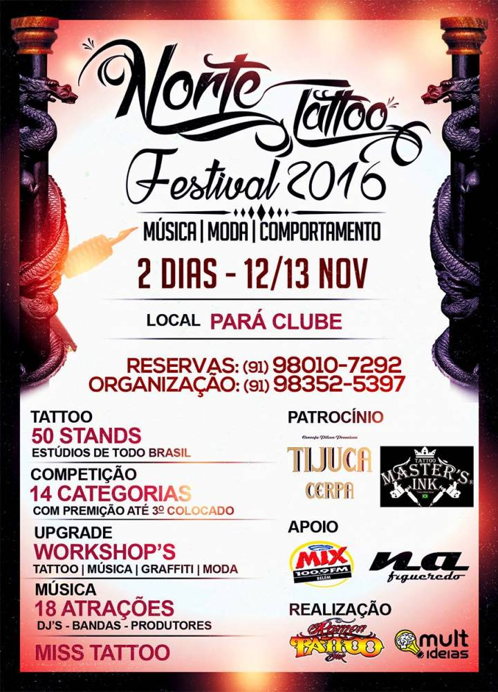Norte Tattoo Festival 2016