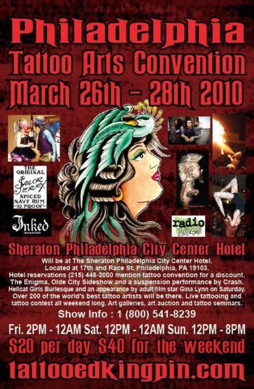 Philadelphia Tattoo Arts Convention 2010